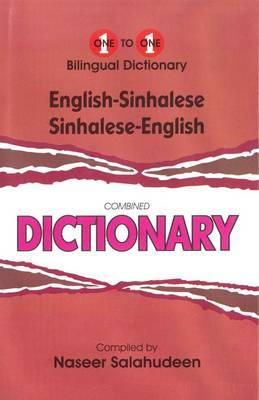 Salahudeen, N. - Englishsinhalese Sinhaleseenglish Onetoo (English and Sinhalese Edition) - 9781908357380 - V9781908357380