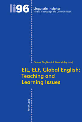 - EIL, ELF, Global English: Teaching and Learning Issues (Linguistic Insights) - 9783034300100 - V9783034300100