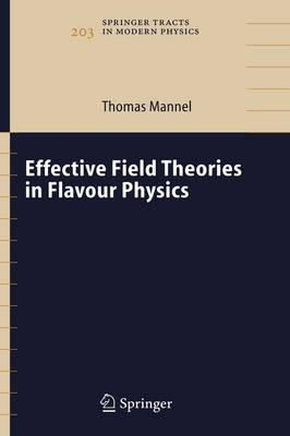 Mannel, Thomas - Effective Field Theories in Flavour Physics (Springer Tracts in Modern Physics) - 9783540219316 - V9783540219316
