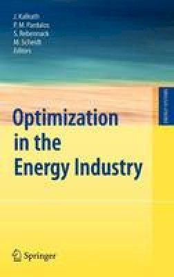 - Optimization in the Energy Industry (Energy Systems) - 9783540889649 - V9783540889649