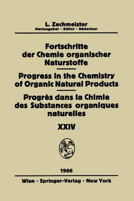 Biemann, K. - Fortschritte Der Chemie Organischer Naturstoffe / Progress in the Chemistry of Organic Natural Products / Progrès Dans La Chimie Des Substances Organiques Naturelles (English and G - 9783709181454 - V9783709181454
