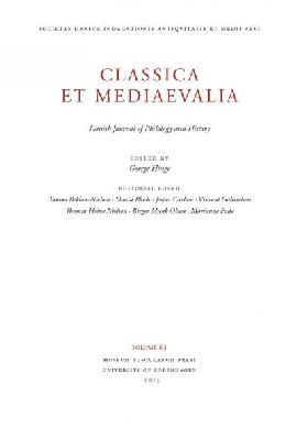 Hinger, George - Classica et Mediaevalia 64: Danish Journal of Philology and History (Museum Tusculanum Press - Classica et Mediaevalia) - 9788763541411 - V9788763541411