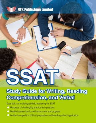 NTK English Department - SSAT Study Guide for Writing, Reading Comprehension, and Verbal - 9789881555496 - V9789881555496