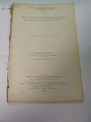 - Royal University of Ireland Receipts and Expenditure for the Year ended 31st March 1902 -  - KDK0005327