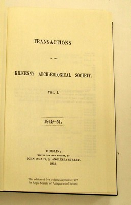 - Journal of the Royal Society of Antiquaries of Ireland; Volume i 1849-51 -  - KEX0283222