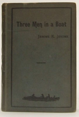 Jerome K Jerome - Three Men In A Boat (To Say Nothing Of The Dog) -  - KTJ0050220