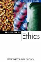 Peter Vardy - Puzzle of Ethics - 9780006281443 - V9780006281443