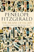 Fitzgerald, Penelope - The Means of Escape - 9780007105014 - V9780007105014