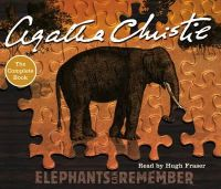 Agatha Christie - Elephants Can Remember - 9780007174096 - V9780007174096