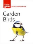 Stephen Moss - Collins Gem Garden Birds: 100 Garden and Town Birds - 9780007176144 - KTG0013848