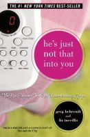 'GREG BEHRENDT, LIZ TUCCILLO' - He's Just Not That Into You: The No-Excuses Truth to Understanding Guys - 9780007198214 - KRF0024205