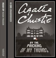 Christie, Agatha - By the Pricking of My Thumbs - 9780007213221 - V9780007213221