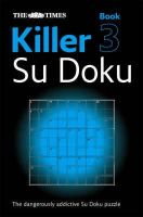 Sudoku Syndication - Times Killer Su Doku Book 3 (Bk. 3) - 9780007248001 - V9780007248001