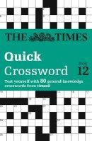 - The Times T2 Crossword: Book 12 (Bk. 12) - 9780007264476 - V9780007264476