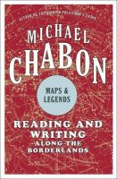 Chabon, Michael - Maps and legends - 9780007289875 - KEX0296031