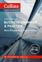 Nick Brieger - Collins Business Grammar & Practice. Intermediate (Collins English for Business) - 9780007420575 - V9780007420575