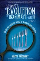 Karlinsky, Harry - The Evolution of Inanimate Objects - 9780007460052 - 9780007460052