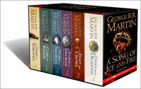 George R. R. Martin ( QIAO ZHI R R MA DING ) - Song of Ice & Fire Box Set - 9780007477166 - 9780007477166