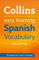 Collins Dictionaries - Easy Learning Spanish Voca Pb (Collins Easy Learning) (Spanish and English Edition) - 9780007483938 - V9780007483938