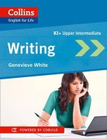 White, Genevieve - Writing B2 (Collins English for Life) - 9780007541324 - V9780007541324