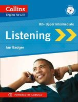 Badger, Ian - Listening B2 (Collins English for Life) - 9780007542680 - V9780007542680