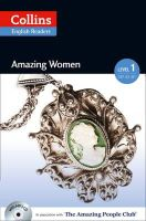- Collins Elt Readers — Amazing Women (Level 1) (Collins Amazing People ELT Readers) - 9780007544936 - V9780007544936