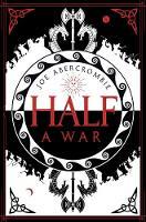 Abercrombie, Joe - Half a War - 9780007550289 - V9780007550289