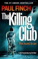 Finch, Paul - The Killing Club - 9780007551255 - KRA0009254