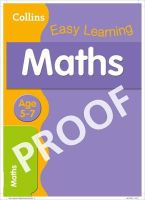 Collins UK - Maths Age 5-7 (Collins Easy Learning) - 9780007559794 - KRA0001776