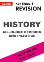 Collins UK - Collins New Key Stage 3 Revision — History: All-In-One Revision And Practice - 9780007562893 - V9780007562893