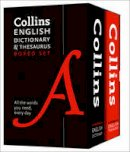 Collins Dictionaries - Collins English Paperback Dictionary and Thesaurus Set - 9780008102661 - V9780008102661
