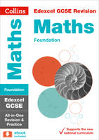 Collins UK - Collins GCSE Revision and Practice - New 2015 Curriculum Edition — Edexcel GCSE Maths Foundation Tier: All-In-One Revision and Practice - 9780008112493 - V9780008112493
