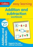 Collins Easy Learning - Collins Easy Learning Age 5-7 — Addition and Subtraction Workbook Ages 5-7: New Edition - 9780008134297 - V9780008134297