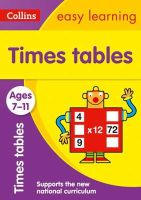 Collins Easy Learning - Collins Easy Learning Age 7-11 — Times Tables Ages 7-11: New Edition - 9780008134402 - V9780008134402