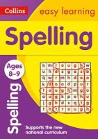Collins Easy Learning - Collins Easy Learning Age 7-11 — Spelling Ages 8-9: New Edition - 9780008134433 - V9780008134433