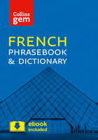 Collins Dictionaries - Collins Gem French Phrasebook and Dictionary - 9780008135881 - V9780008135881