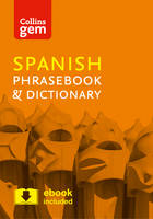 Collins Dictionaries - Collins Gem Spanish Phrasebook and Dictionary - 9780008135942 - V9780008135942