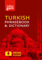Collins Dictionaries - Collins Gem Turkish Phrasebook and Dictionary - 9780008135959 - V9780008135959