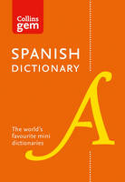 Collins Dictionaries - Collins Gem Spanish Dictionary - 9780008141844 - KSS0005503