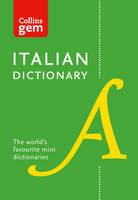 Collins Dictionaries - Collins Gem Italian Dictionary - 9780008141851 - V9780008141851