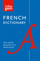 Collins Dictionaries - Collins Gem French Dictionary - 9780008141875 - V9780008141875