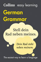 Collins Dictionaries - Collins Easy Learning German – Easy Learning German Grammar - 9780008142001 - V9780008142001
