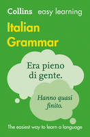 Collins Dictionaries - Collins Easy Learning Italian – Easy Learning Italian Grammar - 9780008142025 - V9780008142025
