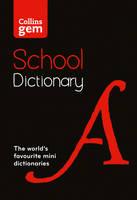Collins Dictionaries - Collins School – Collins Gem School Dictionary - 9780008146467 - V9780008146467