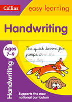 Collins Easy Learning - Handwriting Ages 7-9 - 9780008151423 - V9780008151423