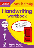 Collins Easy Learning - Handwriting Workbook Ages 7-9 - 9780008151430 - V9780008151430