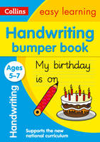 Collins Easy Learning - Handwriting Bumper Book Ages 5-7 - 9780008151478 - V9780008151478