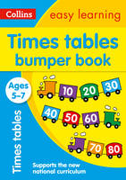 Collins Easy Learning - Times Tables Bumper Book Ages 5-7 - 9780008151485 - V9780008151485