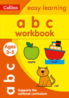 Collins Easy Learning - ABC Workbook Ages 3-5 - 9780008151515 - V9780008151515