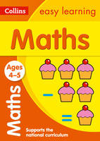 Collins Easy Learning - Maths Ages 4-5 - 9780008151539 - V9780008151539